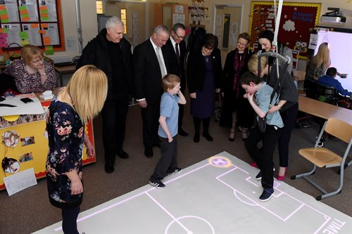Willowbank School Pupils and Community Planning Partners